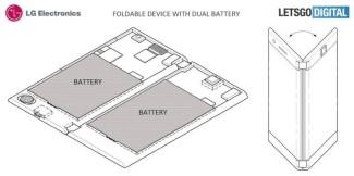 LG запатентовал смартфон с двумя экранами и двумя аккумуляторами