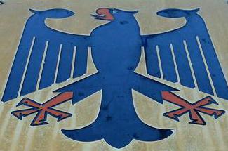 Германия: синий цвет